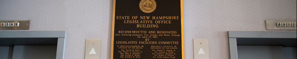 NH Legislative Office Building Elevator