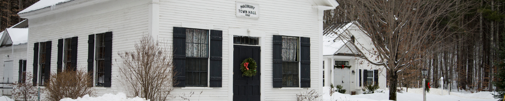 Madbury NH Town Hall