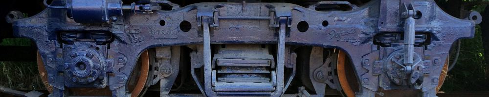 Rail Car Close Up