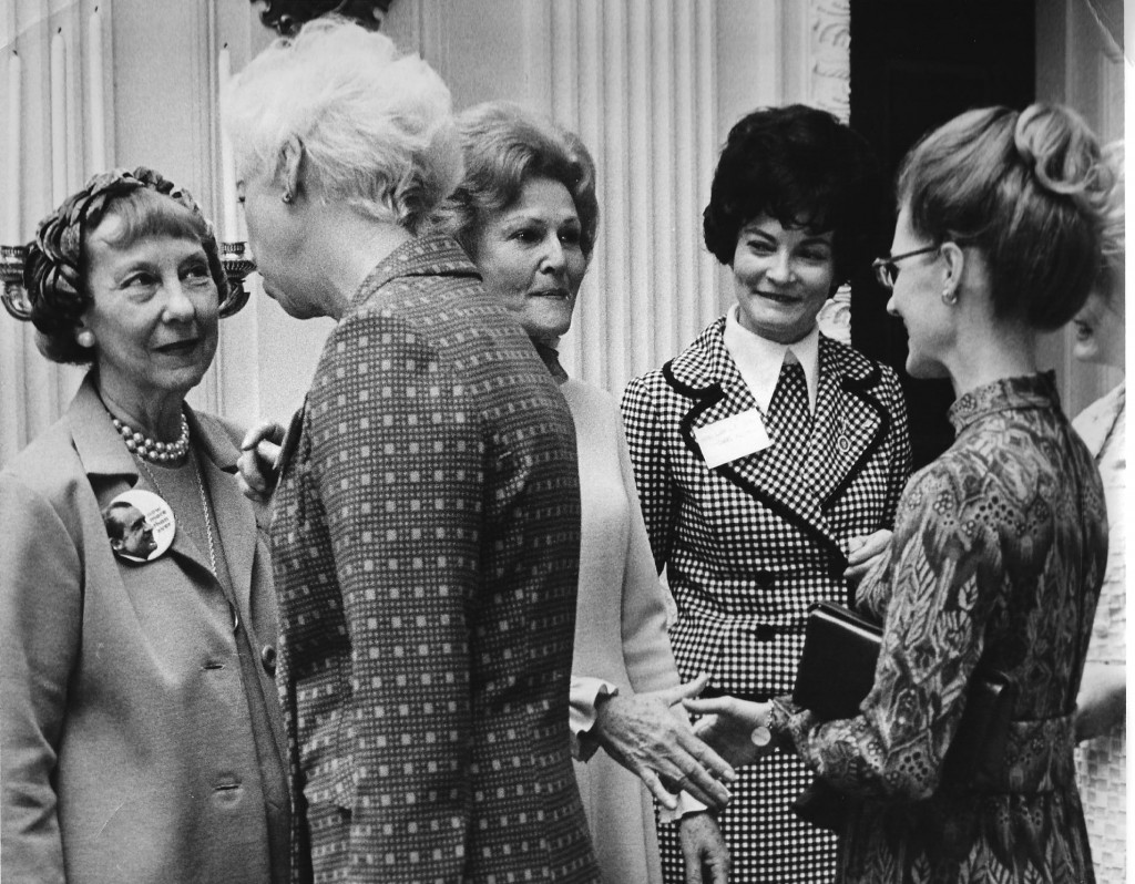 Pat Nixon, Mame Eisenhower and Donna Anderson