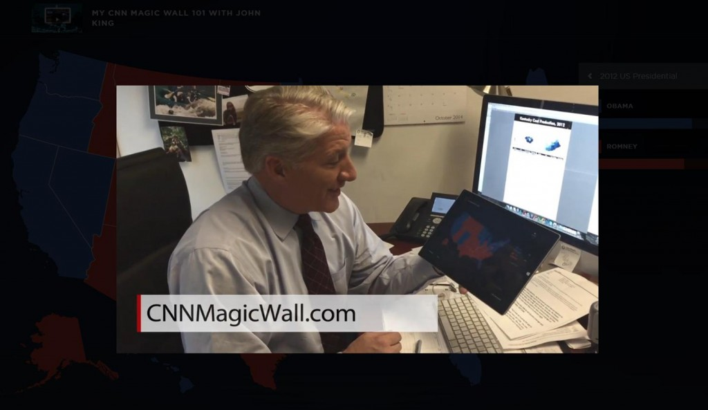 John King CNN Magic Wall